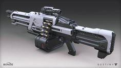 Destiny - House of Wolves - Machine Gun, Mark Van Haitsma on ArtStation at https://www.artstation.com/artwork/destiny-house-of-wolves-machine-gun