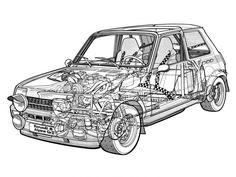 1977 Renault 5 Alpine Rally wrc race racing