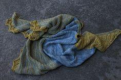 Ravelry: Two if by Sea Shawlette pattern by Pam Jemelian