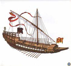 Imagen Battle Of Lepanto, Water Crafts, Sailing Ships, Renaissance, Boat, History, World, Logos, Ship Art