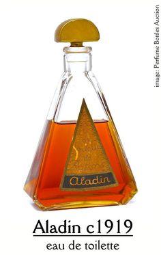 Paul Poiret and Rosine Perfumes: Aladin by Rosine c1919
