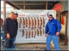 Backwater Fishing For Red Fish in New Orleans / New Orleans Fishing Reports 3/1/2015
