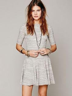 Free People Marina Knit Dress