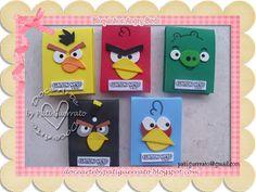 Doce Arte: Angry Birds - Lembrancinhas