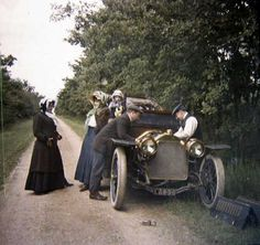Edwardian color photo