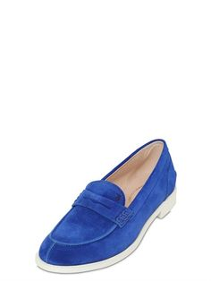 20MM VK SUEDE LOAFERS