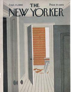 Vintage portada de la revista The New por LititzCarriageHouse, $10.00