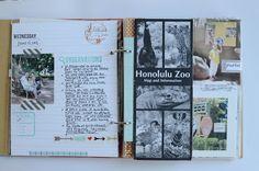 Great travel mini in a Snap 6x8 album - Evalicious