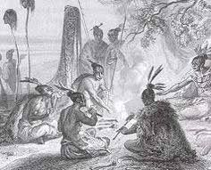 Emile Rouargue ca A group of Maori engaging in a feast beside the sea or lake, with canoe drawn up beside them, and 2 head keepers on poles. Chatham Islands, Polynesian People, Maori People, Archaeological Discoveries, Maori Art, Black Lagoon, Easter Island, Printmaking, New Zealand