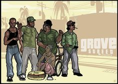Gamer Setup, Gta San Andreas, Rockstar Games, Playstation Games, Cartoon Games, Grand Theft Auto, Gta 5, Chicano, Fun Games