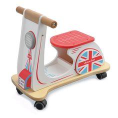Kinderroller - Jamm Scoot 'Union Jack' von Indigo Jamm. Jetzt online für 75,00€ versandkostenfrei kaufen bei Little Roomers.