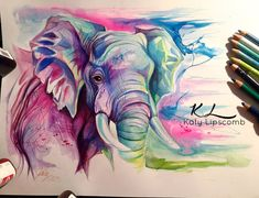 81- Elephant II by Lucky978.deviantart.com on @DeviantArt