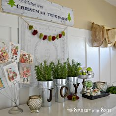 Fox Hollow Cottage: Top 20 Creative Christmas Ideas II {pinterest party features}