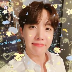 this is radiating phat uwu energy >_< Jimin, Jhope, Namjoon, Taehyung, Jung Hoseok, J Hope Selca, Bts J Hope, Blackpink Icons, Cute Icons