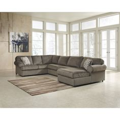 Get The Ashley Furniture Jessa Place Dune Sectional Right For The Best  Price Online, Only At Jacku0027s Warehouse