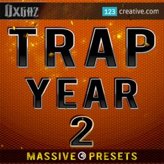 123creative.com releases TRAP YEAR 2 - MASSIVE PRESETS for electronic music production • Genres: Trap and other genres of EDM. Download: http://www.123creative.com/electronic-music-production-massive-presets/1118-trap-year-2-massive-presets.html (trap massive presets, trap leads, trap plucks, trap sounds, trap synth presets, trap preset bank)