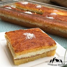 We have a wonderful recipe for dessert We know a . Easy Cake Recipes, Sweet Recipes, Dessert Recipes, Desserts, Turkish Sweets, Ramadan Recipes, Wonderful Recipe, Turkish Recipes, Yummy Drinks
