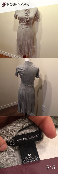 Gray vintage dress Beautiful vintage style gray dress. Dresses