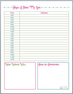 blissful keeper at home free project planning sheet household