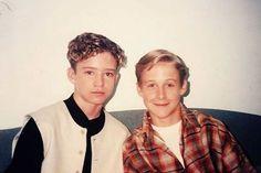13 éves Justin Timberlake és a 14 éves Ryan Gosling 1994