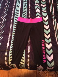 Pink cropped leggings. Has some wear between the legs but still have a lot of life. Asking 15 shipped.