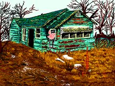"""Witch House"" is a wondrous mspaint #art work by the artist hellopirate2"