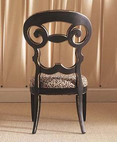 Painted chair by Century