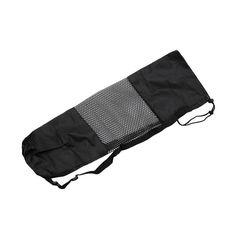 Adjustable Strap Nylon Yoga Pilates Mat Carrier Bag Mesh Center Case