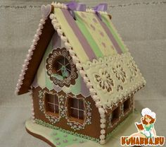 Gingerbread Chalet - the colors aren't my favorite but the style is cute
