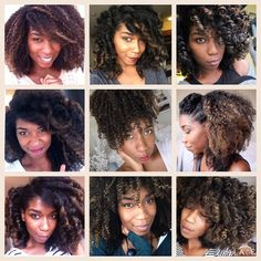 ❤️ Natural Hair Versatility  ✨Highlighted Version✨ #NaturalHair #MissionNaptural85Takeover #Naptural85 @naptural85