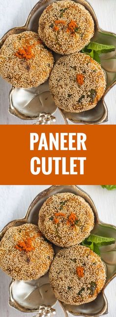 Paneer Cutlet recipe-how to make described here with step by step pictures. These are very easy to make and perfect for tea time snacks. Would be a great appetizer for parties and large gatherings. Veg Appetizers, Indian Appetizers, Appetizers For Party, Appetizer Recipes, Party Snacks, Appetisers, Dessert Recipes, Easy Indian Snacks, Indian Food Recipes