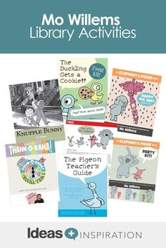 Engaging a reluctant reader can be a challenge, but Mo Willems is here to help! Supplement his engaging books with these Elephant and Piggie activities.