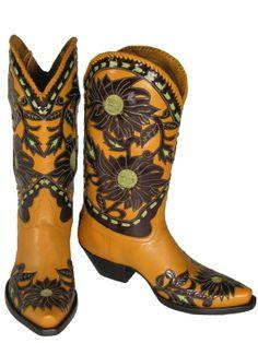 LIBERTY BOOT CO. Calabasas Ladies Cowboy Boots 8-087