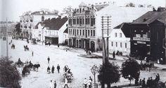Rynek Kościuszki (Bazarna), Białystok - 1896 rok, stare zdjęcia