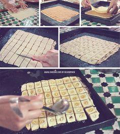 Marrakech taller de cocina - receta baklava de cacahuete Vegan Dessert Recipes, Cake Recipes, Desserts, Crazy Cakes, Middle Eastern Recipes, Arabic Food, Food Facts, Mediterranean Recipes, Cookie Bars