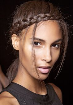 Sleek braids and twists