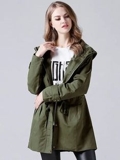 #Fall2021collection #Falloutfits #Fallcollection #FallWear #Autumnwear #fashionintrend #womenfashion #Expressyourself #autumncollection #auntumndress $157.00 $82.48 Trench Coats Women Long, Long Trench Coat, Coats For Women, Cute Fall Outfits, New Outfits, Badass Style, Green Coat, Pinterest Fashion, Formal Evening Dresses