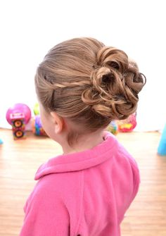 Daddy daughter dance hair
