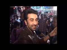 ranbir kapoor mobbed at the special screening of BESHARAM.