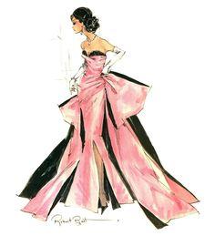 New Fashion Sketches Barbie Ideas Arte Fashion, Moda Fashion, New Fashion, Vintage Fashion, Fashion Design, Paper Fashion, Style Fashion, Mode Rose, Vogue