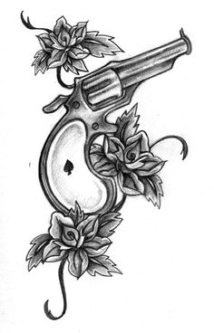 derringer tattoo on pinterest gun tattoos guns and garter tattoos. Black Bedroom Furniture Sets. Home Design Ideas