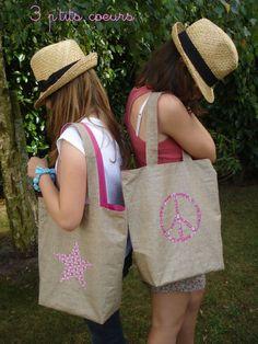 Des sacs pour nos ados voire pour leur maman !