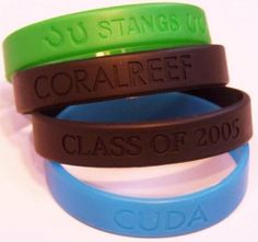 Most charities have wristbands these days and everyone wants one to show their support.