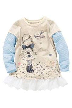 Buy Oatmeal Girl Tunic (up to 6 years) from the Next UK online shop