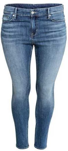 H&M - H&M+ Slim Jeans - Denim blue - Ladies