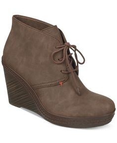 Dr. Scholl's Bethany Wedge Booties - Boots - Shoes - Macy's