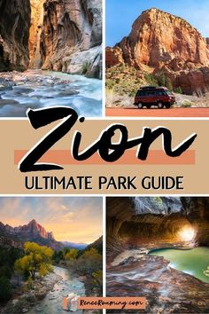 Zion National Park is one of the most unique places on earth, and one that truly showcases the diversity of landscapes in the National Park System. In this guide I'm sharing all the information needed to plan your dream Zion National Park trip! Whether you are a adventure-junkie or just looking to explore Zion from your car, this is the perfect resource to help you make the most of your time in the park! Find out all the best hikes and photo spots! #zionhikes #zionphotos #zionnationalpark Usa Travel Guide, Travel Advice, Travel Usa, Travel Guides, Travel Tips, Canada Travel, National Parks Usa, Zion National Park, United States Travel