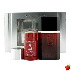 Loris Azzaro Azzaro Elixir Coffret: Eau De Toilette Spray 100ml/3.4oz + Deodorant Stick 75ml/2.7oz 2pcs #LorisAzzaro #Perfume #MensSets #MensGift #StrawberryNET