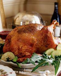 Bacon-Roasted Turkey with Sweet-Onion Gravy Recipe on Food & Wine