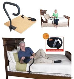 Bed Assist Rail Handle Elderly Support Home Patient Hospital Safety Mobility Aid #Stander: